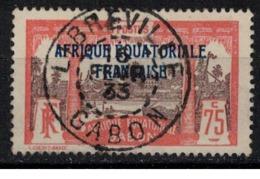 GABON              N°  YVERT  :   104   ( 1 )  OBLITERE       ( Ob   7/ 59 ) - Used Stamps