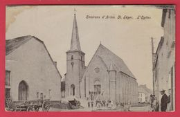 St. Léger ( Environs D'Arlon ) - L'Eglise - 1907  ( Voir Verso ) - Saint-Léger