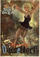 DUSSELDORF, KARNEVAL, 1937, DIM. 15X21 CM - Advertising