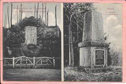 Bitche - Bitsch Preussisches Kriegerdenkmal Gedenstein Zur Erinnerung An Die Erstürmung Von Kowno Parfait état - Bitche