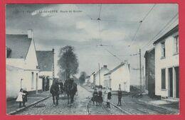 Fayt-lez-Manage ( Lez Seneffe ) - Top Carte - Route De Binche ... Super Animée -S.B.P.( Voir Verso ) - Manage