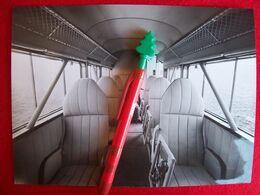 FOTO AEROPLANO  BREDA BA 32 CABINA PASSEGGERI - Aviation