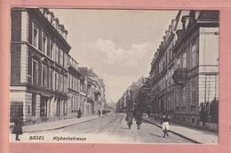 OUDE POSTKAART ZWITSERLAND -  SCHWEIZ - BASEL - KLYBECKSTRASSE - BS Basel-Stadt