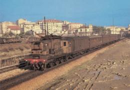 CPA - Savona - Locomotiva Electtrica Trifase F.S.E. 333.032 Con Treno Accelerato Savona - Alberga - Savona