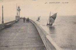 20 / 7 / 284. - HONFLEUR ( 14 )  LA  JETÉE   - CPA - Honfleur