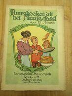 Pannekoeken Uit Het Meetjesland Lenteweelde Abdij Van Averbode 1928 Verhalen Voor Kinderen 128 Blz Hoogenbos Illustrator - Oud