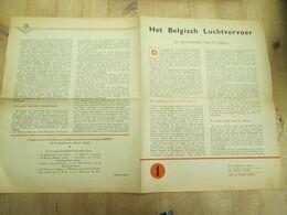De Geschiedenis Van Sabena - Publicités