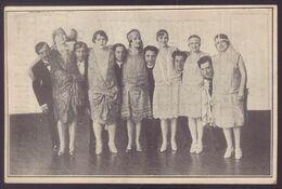 """Elenco De Atores """"O BOM LADRAO"""" Da Companhia Satanella-Amarante (Teatro Avenida LISBOA). PORTUGAL 1920s - Théâtre"""