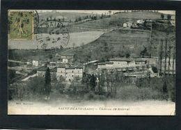 CPA - SAINT HEAND - Le Château De Maleval - Other Municipalities