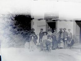 RARISSIME Plaque De Verre - Le Haut Du Them / Chateau Lambert 70 - Auberge Hubler En 1903 - TBE - France