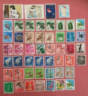 JAPAN LOT OF USED STAMPS - 使用済みスタンプの日本ロット - Collections, Lots & Series