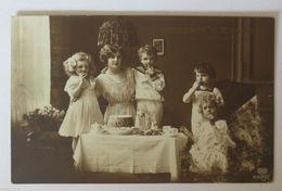 """""""Namenstag, Frauen, Kinder, Kaffee"""" 1910 ♥  - Feiern & Feste"""