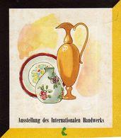 TRIESTE, AUSSTELLUNG DES INTERNATIONALEN HANDWERKS, 1953, AUSSTELLUNG, EXHIBITION, DIM. 12X14 CM - Pubblicitari