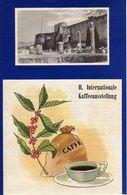 TRIESTE, II. INTERNATIONALE KAFFEEAUSSTELLUNG, 1953, AUSSTELLUNG, EXHIBITION, DIM. 12X18,5 CM - Pubblicitari