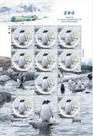 UKRAINE 2020 MNH Sheet - Fauna Antarctica Penguin NEW! - Ukraine