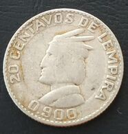 Pas Courant - HONDURAS - 20 CENTAVOS 1951 - Argent - Silver - KM 73 - Honduras