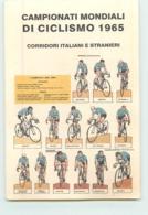 Campionati Mondiali Di Ciclismo 1965 : Gimondi, Adorni, Zilioli..... 2 Scans. Cyclisme. - Cycling