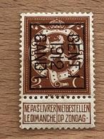 34B Gent 1 1912 Gand 1 Pas Fréquent - Vorfrankiert