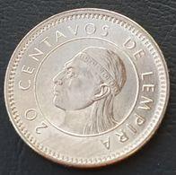 HONDURAS - 20 CENTAVOS 1995 - KM 83a - Honduras