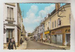CPSM SELLES SUR CHER (Loir Et Cher) - La Rue Principale - Selles Sur Cher