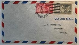 "USA ""KOROR CAROLINE ISLAND JUL 1 1951"" P.O FDC ! & First Flight Cover Via Guam > US (Karolinen Premier Vol Lettre Brief - Guam"
