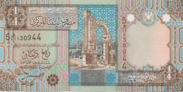 Libye Libya : 1/4 Dinar UNC - Libye