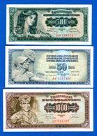 Yougoslaviie  10  Billets - Joegoslavië