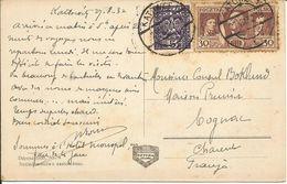 Pologne Carte Postale 1932 KATOWICE (la Grande Place Avec Theâtre) - Lettres & Documents