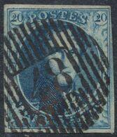 """Médaillon - N°7 Bien Margé Obl D48 """"St - Léger"""". Superbe ! - 1851-1857 Medallones (6/8)"""