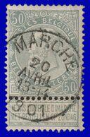 "COB 63 - Belle Oblitération ""MARCHE"" - 1893-1900 Schmaler Bart"