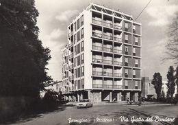 FORMIGINE-MODENA-VIA GIOTTO DEL BONDONE-CARTOLINA VERA FOTOGRAFIA NON VIAGGIATA- DATATA 21-11-1976 - Modena
