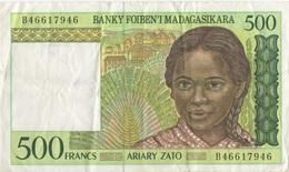 Madagascar : 500 Ariary (bon état) - Madagascar