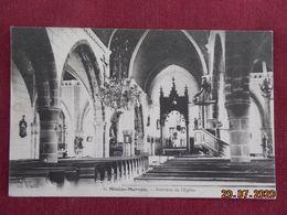 CPA - Miniac-Morvan - Intérieur De L'Eglise - Francia