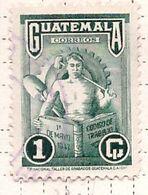 PIA - GUATEMALA - 1948 : Anniversario Dell'introduzione Del Codice Del Lavoro -  (Yv 332) - Guatemala