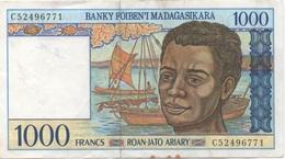 Madagascar : 1000 Ariary (moyen état) - Madagascar