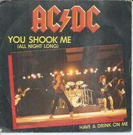 "45 Tours SP -  AC/DC  - ATLANTIC 11600  -  "" YOU SHOOK ME ""  + 1 - Dischi In Vinile"