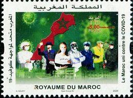 XB1132 Morocco 2020 Anti-Coronavirus COVID-19 1v MNH - Marruecos (1956-...)