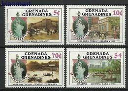 Grenada And Grenadines 1986 Mi 736-739 MNH ( ZS2 GGR736-739 ) - Voitures