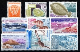 RC 17523 TAAF COTE 44,35€ - 1995 ANNEE COMPLETE SOIT 9 TIMBRES N° 194 / 202 NEUF ** MNH TB - Französische Süd- Und Antarktisgebiete (TAAF)