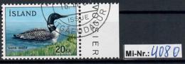 Island Mi-Nr.: 408 Einheimische Fauna 1967 Sauber Gestempelter Wert - 1944-... Republique