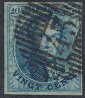"Médaillon - N°7 Bien Margé Obl D43 ""Oostvleteren"". Superbe - 1851-1857 Medaillen (6/8)"