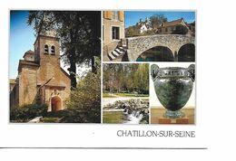 21 CHATILLON SUR SEINE Cpm Multivues - Chatillon Sur Seine