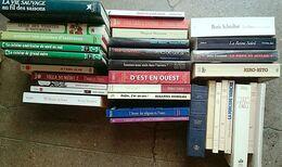 LOT 33 Livres UNIQUEMENT Grand Format:  Histoire, Biographie, Romans, Littérature, Cuisine. - Libri, Riviste, Fumetti