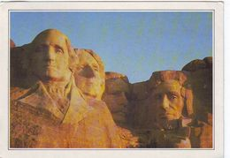 Cartolina Stati Uniti - Sud Dakota : Monte Rushmore - Mount Rushmore