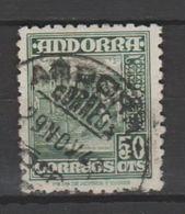 ANDORRA CORREO  ESPAÑOL Nº 46. C. M. ABAD USADO  (S.1.B) - Andorra Española