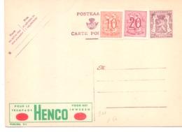 Belgique Publibel N° 911 Neuf - Stamped Stationery