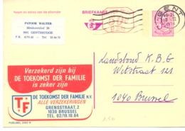 Belgique Publibel N° 2562 N - Stamped Stationery