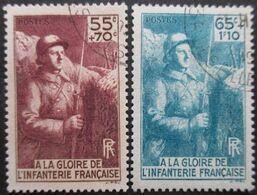 FRANCE N°386 Et 387 Oblitérés - Oblitérés