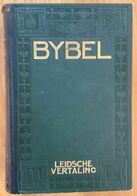 NL.- DE BIJBEL. NAAR DE LEIDSCHE VERTALING. UITGEVERS-MAATSCHAPPIJ EN BOEKHANDEL. V/H. P.M. WINK. ZALTBOMMEL 1914. - Libros, Revistas, Cómics