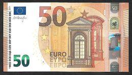 "New Issue! Greece  ""Y"" 50  EURO ! Draghi  Signature!! UNC  (from Bundle) ""Y"" Printer  Y003B2 !! - 50 Euro"
